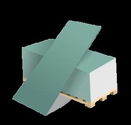 Гипсовая влагостойкая плита ГСП тип H2 12,5мм