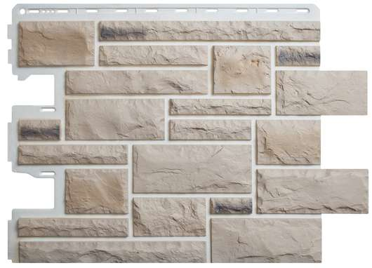 Фасадные панели Альта-профиль Камень Пражский