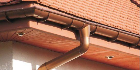 Металлическая водосточная система МП Престиж